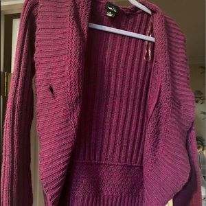 Soft purple sweater